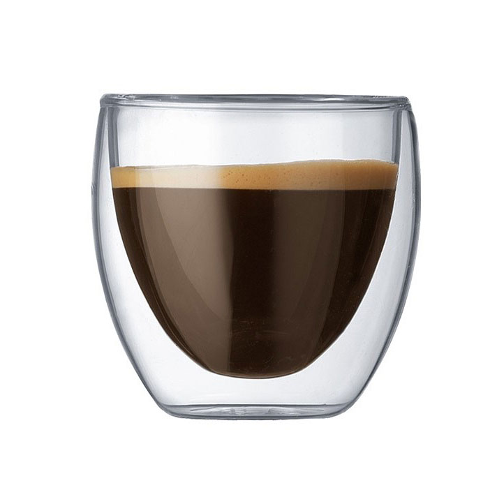 Double Walled Espresso Coffee Cup 80ml - HospitalityHQ ...