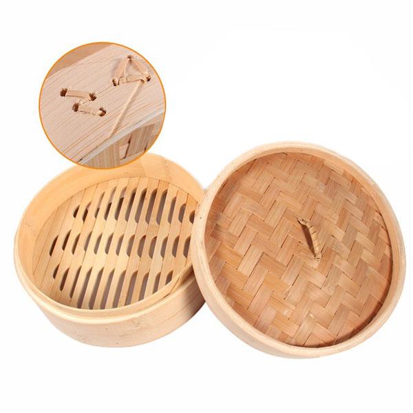 Bamboo Steamer 2 Piece 30cm