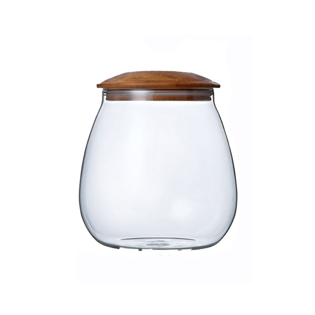 Mushroom Shaped Glass Jar 400ml