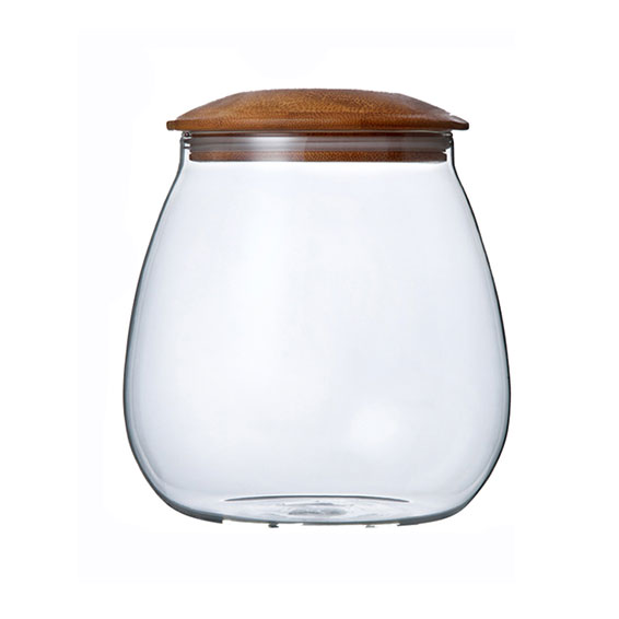 Mushroom Shaped Glass Jar 930ml
